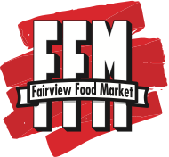 A logo of Fairview Food Market